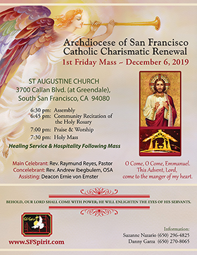 First Friday Mass December 2019