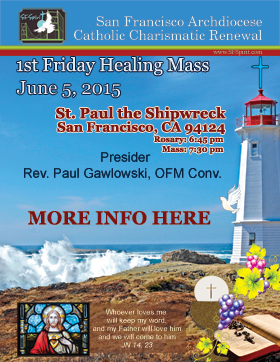 First Friday Mass June 2015